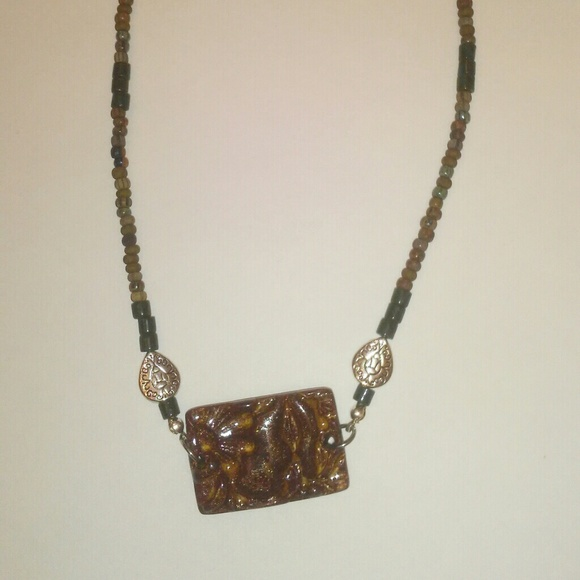 Jewelry - Brown Bohemian Necklace  36
